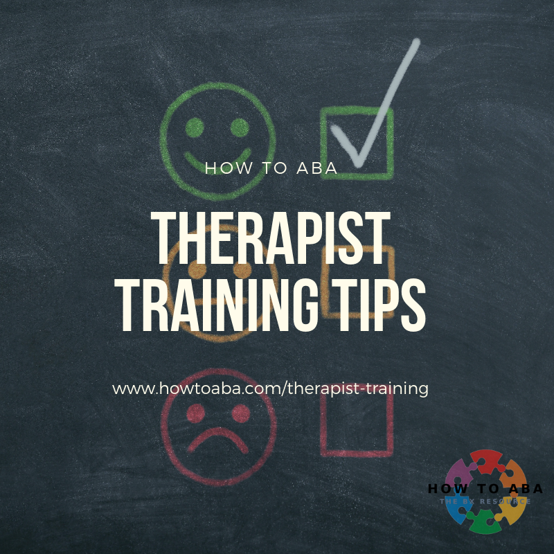 Therapist training